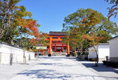Fushimi Inari Shrine at Kyoto - Japan — Stock Photo