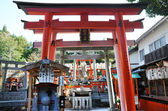 Fushimi Inari-taisha Shrine in Kyoto Japan — Zdjęcie stockowe