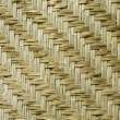 Natural woven reeds textured — Stock Photo