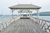 Beautiful old pavilion on Sichang island at chonburi province,Th — Stock Photo