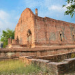Wat Maheyong, Ancient temple and monument, Ayutthaya, Thailand - Foto Stock