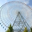 Ferris Wheel - Osaka City in Japan - Stock Photo