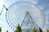 Ferris Wheel - Osaka City in Japan — Стоковое фото