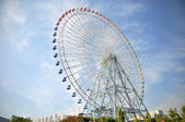 Ferris Wheel near Tempozan Habor village - Osaka, Japan — Stock Photo