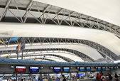 OSAKA, JAPAN - OCT 24: Kansai International Airport taken on 201 — Stock Photo