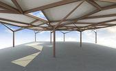 Architecture futuriste — Photo