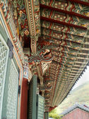Detailed of Beomeosa temple, Busan, South Korea — Foto de Stock
