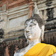 Ancient Buddha statues — Stock Photo