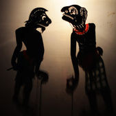 Traditional Thai Shadow show — Stock Photo