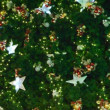 Christmas-tree decorations on star-shaped — Stock Video #28375757