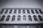 Old building facades, Songkhla, Thailand — Stock Photo