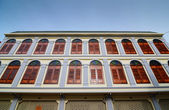 Old building facades, Songkhla, Thailand — Stock Photo