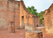 Wat Maheyong, Ancient temple and monument in Ayutthaya, Thailand — 图库照片