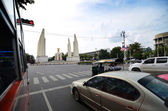 Democracy Monument, Bangkok, Thailand — Stock Photo