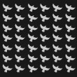 Seamless birds pattern — Stock Photo