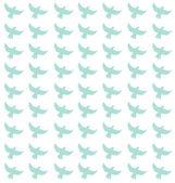Groene vogels patroon — Stockfoto