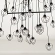 Lighting decor hang on ceiling — Foto Stock
