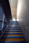 Modern metal stairs — Stockfoto