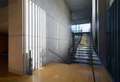 Stylish modern architecture, staircase view — 图库照片