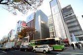 Ginza, япония - 26 ноября: перекресток гинза в токио. — Стоковое фото