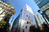 GINZA, JAPAN - NOV 26 : Modern building in Ginza area — Foto Stock