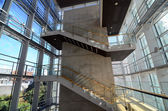 Stairwell in a modern building — Stock Photo