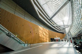 Interior of Tokyo International Forum — Stock Photo