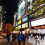 TOKYO - NOV 21: People visit Akihabara shopping area — Stock Photo #38051873