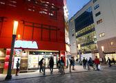 TOKYO - NOV 21: People visit Akihabara shopping area — Stock Photo
