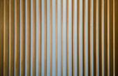 Wooden fin facade background — Stock Photo