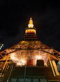 Torre de Tokio de noche — Foto de Stock