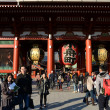 Постер, плакат: ASAKUSA JAPAN NOV 21 2013: Sensoji temple is very popular temple