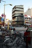 TOKYO -NOV 21: Unidentified tourists around Asakusa Culture Tourist Center — Stock Photo