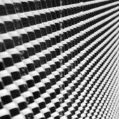 Abstrakte monochromes Bild von Eisen-cast — Stockfoto