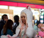 TOKYO - CIRCA NOV 24: Unidentified Japanese girl in Cosplay outf — Stock Photo