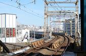 Tokyo demiryolu taşımacılığı — Stok fotoğraf