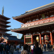 TOKYO, JAPAN - NOV 21: The Buddhist Temple Senso-ji is the symbol — Stock Photo