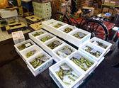 TOKYO, JAPAN- NOV 26, 2013: Tsukiji market is a large market for — Stockfoto