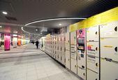 TOKYO - NOV 23: Locker in Tokyo Shibuya station in Tokyo — Foto Stock