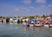 Docking Boats at Phuket, Thailand — Stock Photo