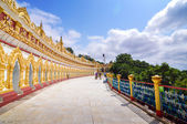 U Min Thonze Pagoda  — Stock Photo