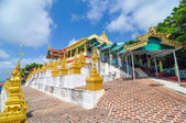 U Min Thonze Cave - A greatly revered Buddhist temple, Sagaing,  — Stock Photo