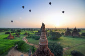 Ancient Temples in Bagan, Myanmar  — Stock Photo