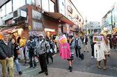 Tokio, japón - el 24 de noviembre: multitud en harajuku calle takeshita — Foto de Stock