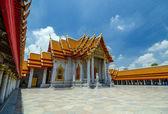 Marble Temple (Wat Benchamabophit Dusitvanaram), bangkok, Thaila — Stok fotoğraf