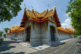 Exterior of Marble Temple, Wat Benchamabophit, Bangkok, Thailand — Stock Photo