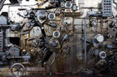 Detail of a rusted machine — Stock Photo