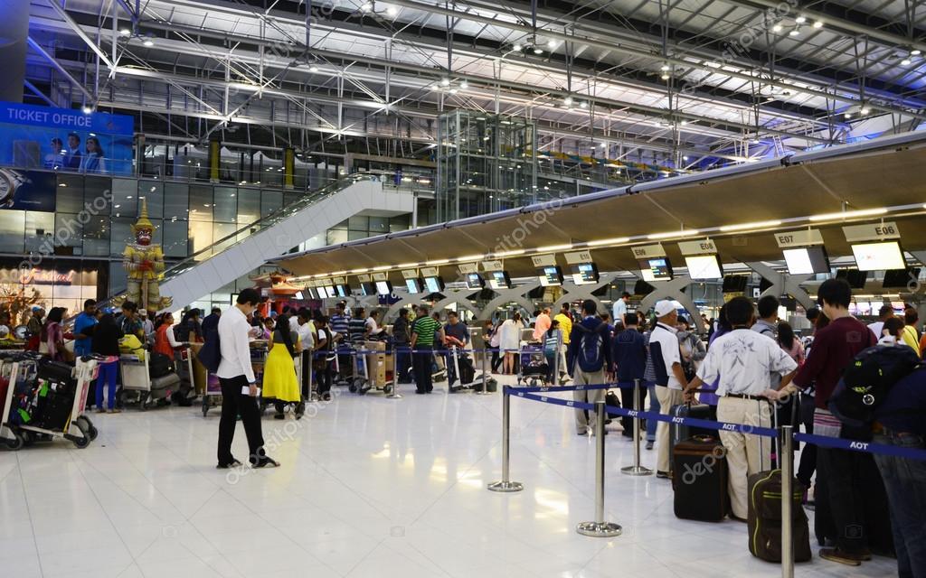 Bangkok Thailand Airport Bangkok Thailand Nov 21
