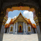 Wat Benjamabophit-The Marble Temple, Bangkok, Thailand — Stock Photo