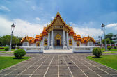 Templo Wat benjamaborphit o mármol en bangkok, Tailandia — Foto de Stock